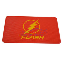 New Car accessories mat cell phone pad the flash non slip pad cartoon dashboard slip stickery silicone anti slip mat key holder