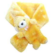 Baby Winter Scarf Bear Style Very Cute and Warm Muffler for Kids Boys Girls New Arrival Colorful Children Neck Warmer(China)