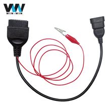 For Fiat 3PIN OBD1 to OBD2 for FIAT 3PIN to 16PIN Diagnostic Tool Cable for Fiat 3PIN to OBD/OBD2 Car Extension Cable(China)
