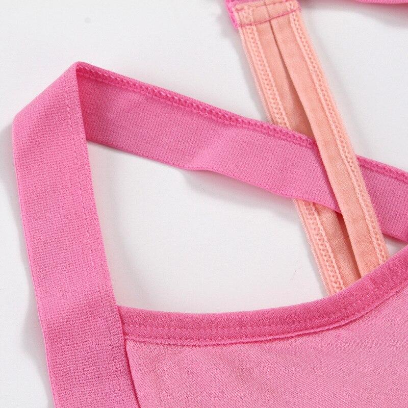 Cross Back Stitching Color Sports Bra Women Fitness Bra Breathable Yoga Bra Women Underwear Brassiere Sport Bra Top Bralette 9