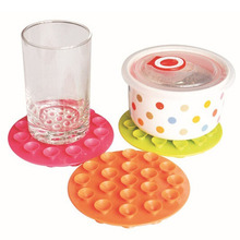 Modern Style Hot High Quality New Arrival Baby Accessories Antiskid Cup Mat Table Bowl Mat(China)
