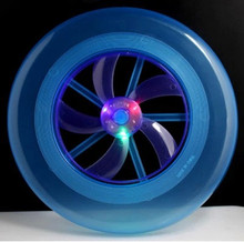 New led with wind Ye Shanguang frisbee Beach square light-emitting toys Flash a flying saucer Outdoor sports frisbee