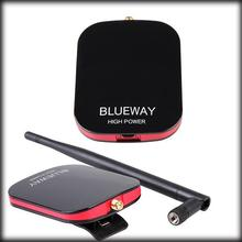 by dhl or ems 100pcs BlueWay N9000 free internet High power Long Range USB WiFi Adapter with 5dBi Antenna Wifi Decoder beini