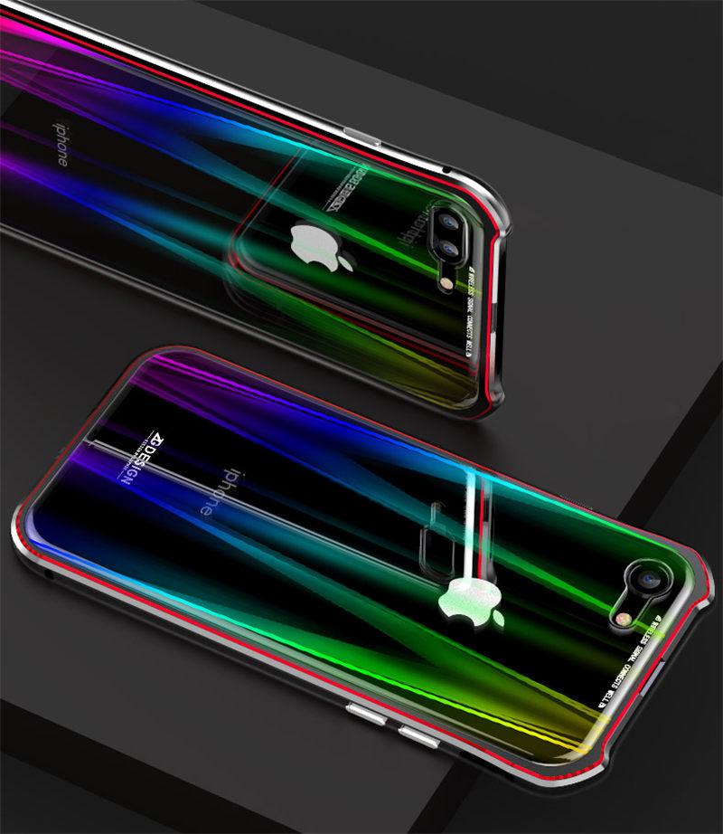 Magnt Magnetic Aurora Case For Iphone Xs Max Xr X 7 8 Plus Transparent Cover For Apple Iphone Xs Max Case 8Plus 7Plus Coque