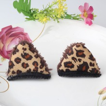 1 Pair Children Hairpins Anime Costume Animal Ears Hair Clip Women Self-Photo Party Hair Accessories Girls Cat Ear Hairpins
