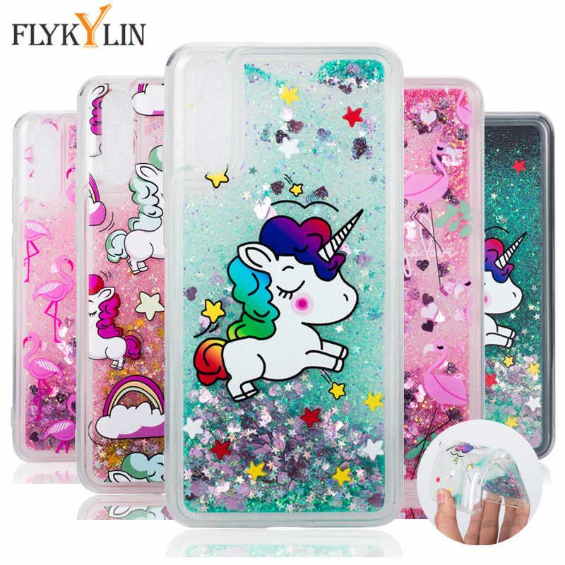 Cute Unicorn Case SFor Hoesje Huawei