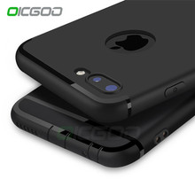 OICGOO Luxury Back Matte Soft Silicon Case for iPhone 6s Cases 6 6s Plus 6 Case Full Cover For iPhone 7 7 Plus 6 Phone Cases p30(China)