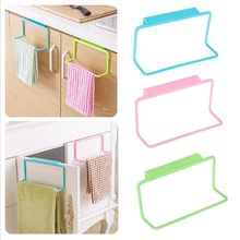 Home Tools Door Tea Bathroom Towel Holder Cupboard Hanger Rack Rail Home Bar Hook Kitchen Candy Colors