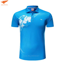 Top Quality Quick Dry Men Sportwear Polo Shirt Short Sleeve Sports Golf  Shirts Turn-down Collar Breathable Badminton Clothing