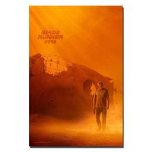 0313A Blade Runner 2049 Harrison Ford Ryan Gosling-Light Canvas Decoration Wall Sticker Silk Art Poster(China)