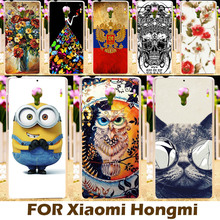 Top Selling Painting Design Hard Plastic Case For Xiaomi Red Rice Redmi 1S 4.7 Inch Hongmi Cell Phone Cover  Protective Sleeve