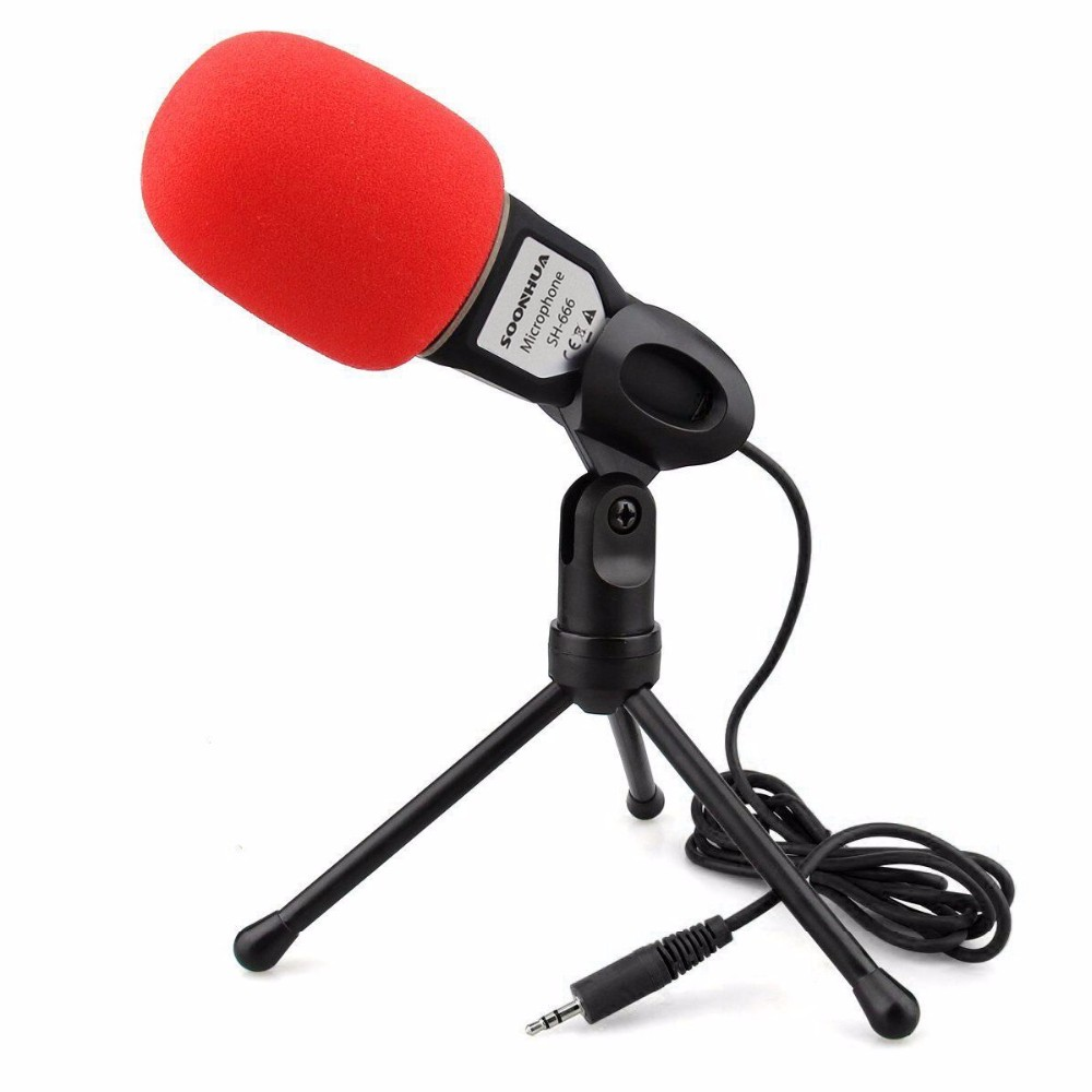 Hair Drier - Microphone Professional Condenser Sound Podcast Studio Microphone For PC Laptop Skype MSN NEW Microphones