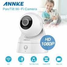 ANNKE 2MP 1080P HD Pan/Tilt WiFi Wireless Security IP Network Camera 3D Control(China)