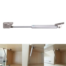 100N/10kg Furniture Hinge Kitchen Cabinet Doors Lift Pneumatic Support Hydraulic Gas Spring Stay Hold Opening Liftup Tool White