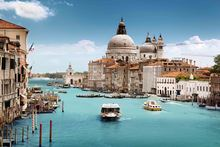 venice italy city landscape sea water KA663 living room home wall modern art decor wood frame poster