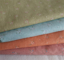150 cm X 50 cm wholesale linen printed fabric crafts fabric for tablecloth curtains fabric