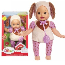 38cm little dog baby Little Mommy baby doll Fragrant Boneca doll toy figure toy