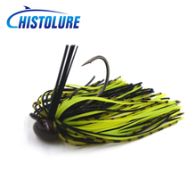 MC&LURE 1pcs fly winning jig Baits Spinner Fishing Lure 10g Jig Lead Head Baits Fishing Lures Single Hook(China)