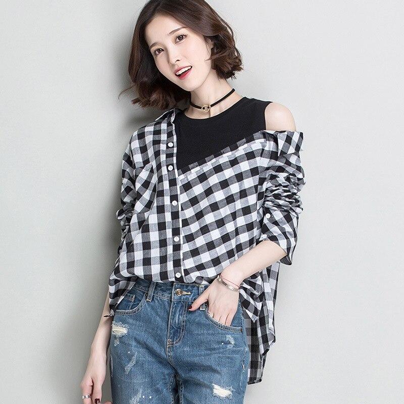 blouse shirt woman fashion sexy blouse 2017 spring...
