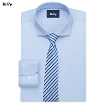 Davy Custom Shirts Made by hand Business Casual Slim Fit Shirt For Male Camisa Dress Shirt Tailored Plus size Tuxedo Shirts Men