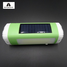 Aniwk Solar Bluetooth Speaker Portable Wireless LED Flashlight TF Card FM altavoz bluetooth Speaker Multifunction Tool enceinte