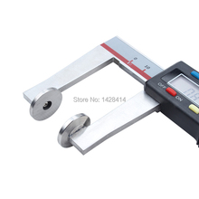 0-200mm 8inch Digital Caliper with plate anvil/ Plate anvil digital caliper/ Digital Caliper with Anvil Jaw(China)