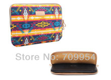 "15""15.4"" Indian Design Laptop Bag Case Canvas Computer PC Sleeve Pouch For Asus , Free Shipping"
