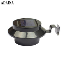 Low Power LED Solar Lamp Solar Light Outdoor Waterproof Wall Lamp Security Spot Lighting 0.3W IP44 Light-Control Solar Wall Lamp(China)