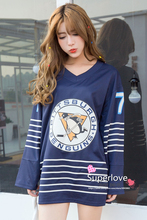 Women Sport Long Sleeve Penguin Jersey Rugby/Hockey/Baseball/Tennis/Basketball T shirt/Camisetas/Clothes For Mujer/Femme/Girls