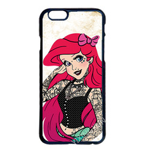 Ariel Princess Cover Case for LG G2 G3 G4 iPhone 4S 5S 5C 6 6S 7 Plus iPod 5 Samsung Note 2 3 4 5 S3 S4 S5 Mini S6 S7 Edge Plus