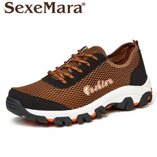 plus size EU39-45 Mens Breathable Outdoor casual Shoes Summer lace Shoes Men Fashion Walking Shoes sapato masculino zapatillas
