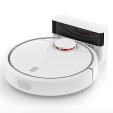 Original Xiaomi Mi Home Smart Robot Vacuum Cleaner LSD and SLAM 1800Pa 5500mAH with APP Control For Home Automatic Sweeping(China)