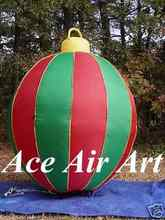 hot sale colorful inflatable ornament ball for Christmas decoration made in China