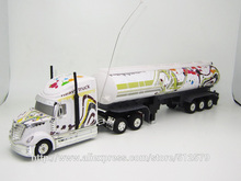 Kingtoy Detachable Electric Remote Control Big Size 1:32 RC 6CH container heavy truck with lights and sounds 4 Colors Car