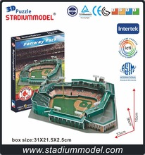 MLB Boston Red Sox Fenway Park american football ball rugby baseball 3D Puzzle Stadium(China)