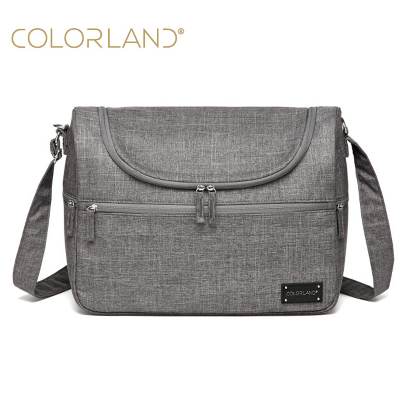 COLORLAND Diaper Bag For Mom Mother Messenger Hobos Multifunction Waterproof Maternity Bag For Baby Changing Nappy Bag<br>