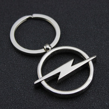 Car Opel Logo Hollow Out Keyring Key Chain Pendant Holder For Automobile Badge Brands Emblem Marks(China)