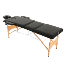ABODY Portable Folding Massage Bed with Carring Bag Professional Adjustable SPA Therapy Tattoo Beauty Salon Massage Table Bed(China)