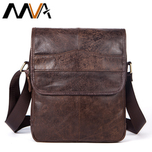 MVA Genuine Leather Bag Men Bags Small Casual Flap Shoulder Crossbody Bags Male Shoulder Handbags Messenger Mens Leather Bag Men(China)