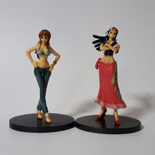 One Piece Action Figure Nico Robin Nami PVC Figure Toys 180MM Anime One Piece Sexy Nami Robin Collectible Model Toy 2pcs/set