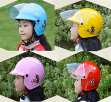 child ZEUS ZS-201 half face motorcycle children helmet , pink red blue yellow motorbike moto motocross kids helmets