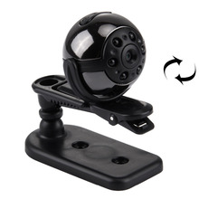 360 Degrees  Full HD 1080P Mini DV Digital Video  Camcorder with Holder & Clip, Support TF Card & TV OUT Connection(Black)