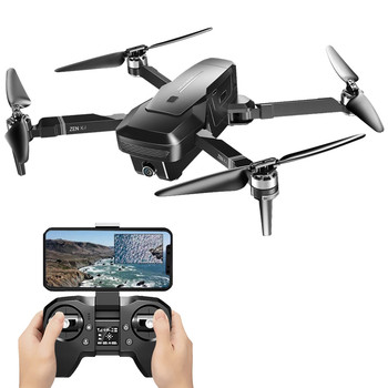 VISUO ZEN K1 GPS 5G Wifi FPV 4K 720P Dual Camera Optical Flow Positioning Brushless Foldable RC Drone Quadcopter RTF Airplanes 6