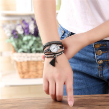 Relojes Mujer 2017 Unisex Women Watches Casual Luxury Analog Quartz Wristwatch Ladies Dress Bracelet Watches Feida(China)