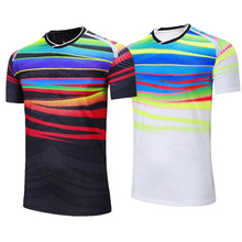New badminton clothes, world championships, badminton clothes, men and women's quick drying breathable tennis shirts(China)