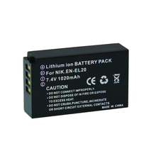 Buy Digital boy 1PCS 1020mAh EN-EL20 EN EL20 ENEL20 Rechargeable Li-Ion Battery NIKON 1 J1 J2 J3 S1 Camera Drop z1 for $7.13 in AliExpress store