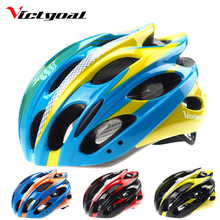 VICTGOAL Light Bike Helmets Men Ultralight Breathable Cycling Helmet Mountain Road Bike Integrally Modeled Bicycle Helmet H1106(China)