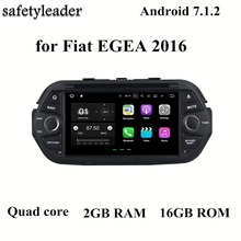 "1024*600 HD 7"" Android 7.1 Car Radio GPS Multimedia Head Unit for Fiat EGEA 2016 With 2GB RAM Bluetooth 3G 4G WIFI Mirror-link(China)"