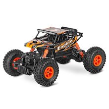 1:18 4WD Electric Climbing Monster RC Car 2.4Ghz Big Foot Crawler Remote Control Off-Road Racing Car Toys for Children(China)