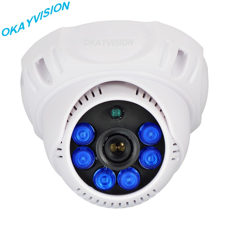 Dome camera 800TVL 1/3 CMOS 6 PCS LED Array IR 20M with IR-CUT Filter indoor dome CCTV Camera.free shipping !!!<br><br>Aliexpress